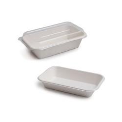 Envase rectangular caña de...