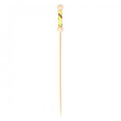 Picks perla natural 12cm bambú