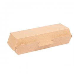 Envase hot dog Cartón Ondulado